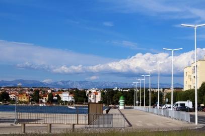 Fragment nadbrzeża portowego