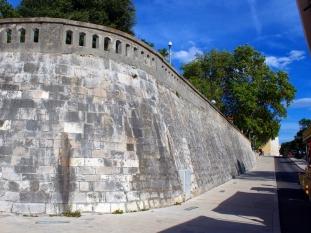 Mury obronne z XV w.
