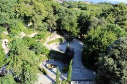 Park Jeleny Madijevke z lotu ptaka