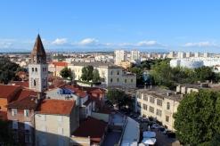 panorama Zadaru widok na pólnoc