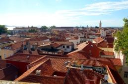 panorama Zadaru kierunek Zachodni