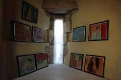 fragment wystawy wewnątrz Wieży kapitańskiej