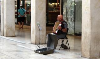 muzyk z Zadaru