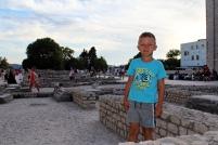 atrakcja dla dzieci - ruiny Forum Romanum