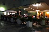 jedna z wielu restauracji w Zadarze